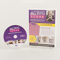 Crafters Companion The Big Score Advanced Projects DVD-680828