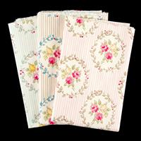 The Millshop Online - 3 x 100% Cotton Fabrics - Rose Garden Colle-683086