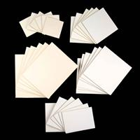 Zutter Canvas Art Board Collection - Assorted Sizes - 4x4 to 8x10-683125