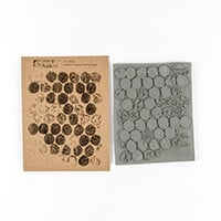 Stamp Addicts Cling Mounted Rubber Stamp - Bubble Grunge Backgrou-683450