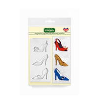 Katy Sue Designs Shoes or Bags Silicone Moulds-683634