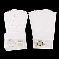 Which Craft? Card Multipack A5 Tent Cards and Tri Fold Tag Cards-684083