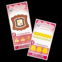 Spellbinders 2 x Die Sets - Cherry Pickin' & Big Scalloped Border-685979