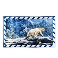 Juberry Fabrics Northern Solitude Polar Bear Panel - 70cm x 112cm-687068