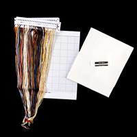 Thea Gouverneur Teddy Family Cross Stitch Kit on Aida-689464