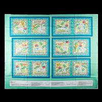 Juberry Fabrics Henry Glass Book Panel & Wadding- Sweet Tweet & B-689534