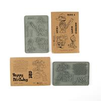 Stamp Addicts Grafftti and Crazy Birthday Unmounted Rubber Stamps-690364