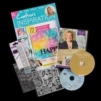 Crafter's Inspiration Magazine Kit - Issue 21 with £50 Worth of P-693732