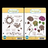 Taylored Expressions 2 x Stamp Sets - Summer Afternoon & Forever -693991
