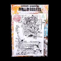 AALL & Create A4 Stamp Set - Tropical Vibes - 2 Stamps-694297