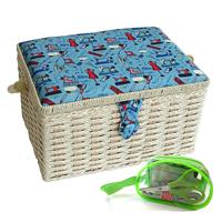Sewing Online Sewing Notions Sewing Basket - Medium with Sewing K-694510