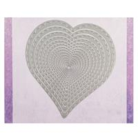 Crafts Too Large Scalloped Hearts Nesting Die Set - 15 Dies-694528