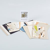 Book Making Mini Kit - 1 x 10x10cm Book & 1 x 15x11cm Book-695735