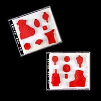 A Stamp In The Hand 2 x Cling Mounted Stamp Sets - Asian Set 1 & -696204