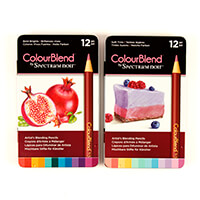 Spectrum Noir ColourBlend Pencils x 24 Bold Brights & Soft Tints-696472
