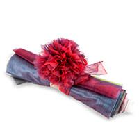 The Millshop Online Set of 8 Organza Fabrics   1 Meter Each-696511