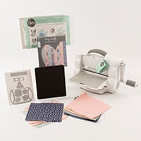 Sizzix® Foldaway Machine Bundle Includes: Papers, Dies and Fabric-697165