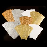 Dawn Bibby 72 Sheets of Assorted Peel Offs - Gold, Silver, Copper-697469