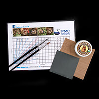 The PMC Studio Silver Clay Essentials Kit - Balm, Mat,Teflon Shee-698447