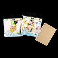Katy Sue Designs Rose & Butterfly Silicone Embossers & Free A5 Jo-700984