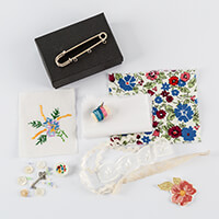Simply Vintage Stitchwork Brooch Kit-702384