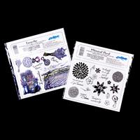 Creative Expressions 2 x A5 Stamp Plates - Whimsical Floral & Lav-703746