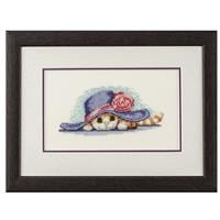 Heritage Cat in Hat Cross Stitch Kit-704304