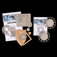 Tando Creative Sacred Secrets and Industrial Clock Substrates-704367