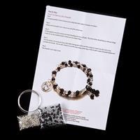 Dawn Bibby Cats Jewellery Memory Wire Bracelet Kit – Makes up to -704540