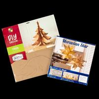 3D Christmas Tree with Star DIY & Project Stack Light Up Moravian-705204