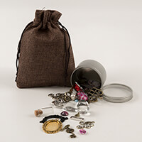 The Craft Box Charms & Embellishments 50ml Treasure Tin-705211