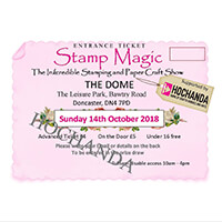 Stamp Magic Show Advance Ticket for Sunday 14th October 2018-710552