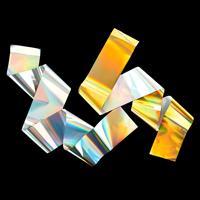 Tonertex™ 2 x 1m x 150mm Pack of Unicorn Foils - Gold & Silver-710854