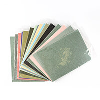 A4 Glitter Card - 16 Colours - 2 of Each Colour - 32 Sheets Total-711330