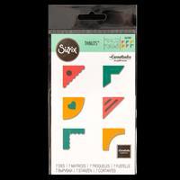 Sizzix® Thinlits™ Set of 7 Dies - Creative Corners-711339