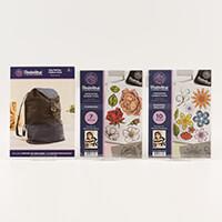Threaders Rucksack Bag Pattern with Floribunda & Blooming Brillia-713874