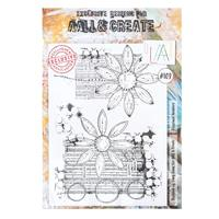 AALL & Create A4 Stamp - Blossomed Numbers-714015