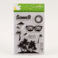 Daisy's By the Sea - Summer Clear Stamp Set - 10 Stamps-714336
