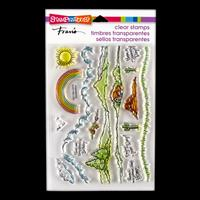 Stampendous Meadows Edge Stamp Set - 16 Stamps-714615