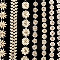 Craft Buddy 5 Yards of Diamante Pearl Trim-715143