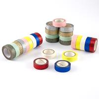 Assorted Colour 4m Glitter Tape - 27 Rolls - 108m Total-715862