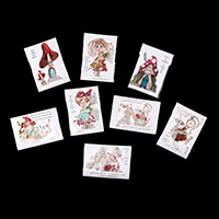 Dolly Dimples 8 x A6 Stamp Sets - Toadstool Magic-715903
