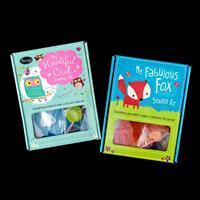 Crafts Too 2 x Kids Sewing Kits - Owl and Fox-716760