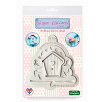 Sugar Buttons Birdhouse Silicone Mould-717045