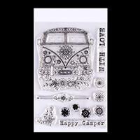 Pink Ink Designs A6 Clear Fairy Camper 11 Stamp Set-717841