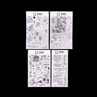 Hobby Art 4 x Stamp Sets - Bee Friendly, Bunnys & Brambles, In th-718787