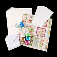 Glitter Magic 3D Fabric Decoupage Kit - Wedding-718976