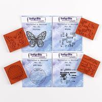 IndigoBlu 4 x Collector's Edition Stamps - No. 21, 22, 23 & 24-719929