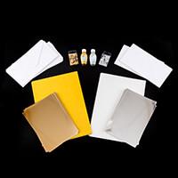Cardmaking Kit - Mirror & Glitter Card, Envelopes, Sequins, Glitt-720851