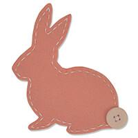Sizzix® Bigz Die - Lovable Bunny-723639
